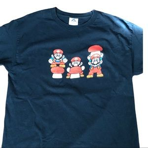 VTG Mario Brothers graphic short sleeve T-shirt L
